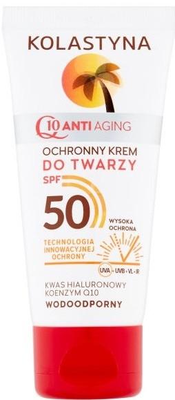 Vodeodolný anti-aging opaľovací krém na tvár - Kolastyna — Obrázky N1