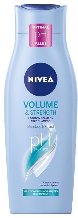 """Šampón-starostlivosť """"Objem a starostlivosť"""" - Nivea Hair Care Volume Sensation Shampoo"""