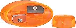 Voňavky, Parfémy, kozmetika Dvojitá orezávačka na ceruzky, oranžová - Essence Sharpener