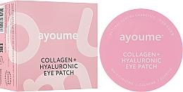 Voňavky, Parfémy, kozmetika Náplasti pod oči s kolagénom a kyselinou hyalurónovou - Ayoume Collagen + Hyaluronic Eye Patch