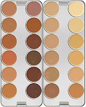 Voňavky, Parfémy, kozmetika Paleta korektorov, 24 farieb - Kryolan Dermacolor Camouflage Creme Palette