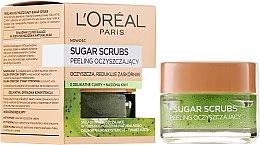 Voňavky, Parfémy, kozmetika Čistiaci cukrový scrub na tvár - L'Oreal Paris Sugar Scrubs