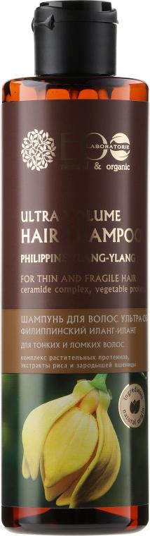 """Šampón """"Ultra objem pre tenké a krehké"""" - ECO Laboratorie Ultra Volume Hair Shampoo"""