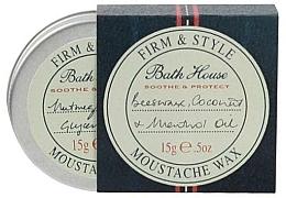 Voňavky, Parfémy, kozmetika Vosk na bradu a fúzy - Bath House Menthol Snorwax