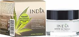 Voňavky, Parfémy, kozmetika Krém na tvár s konopným olejom - India Face Cream With Cannabis