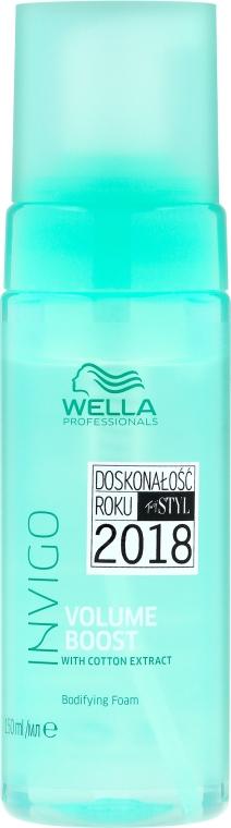 Pena na zväčšenie objemu - Wella Professionals Invigo Volume Boost Bodifying Foam — Obrázky N1