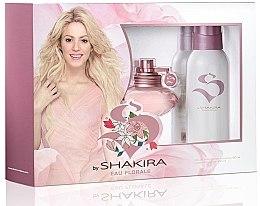 Voňavky, Parfémy, kozmetika Shakira S By Shakira Eau Florale - Sada (edt 50ml + deo 150ml)