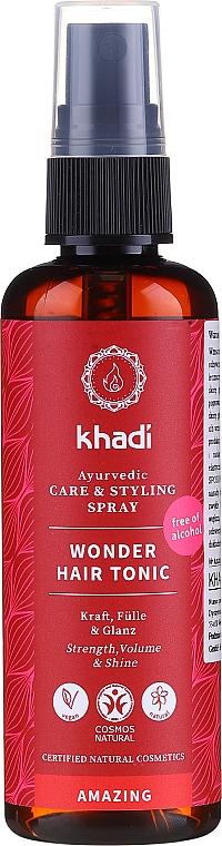 Tonikum na vlasy na báze cenných ajurvédskych liečivých bylín - Khadi Wonder Hair Tonic