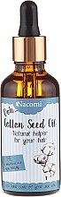Voňavky, Parfémy, kozmetika Olej na vlasy z bavlníkových semien s pipetou - Nacomi Cotton Seed Oil
