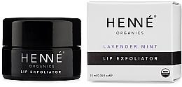 Voňavky, Parfémy, kozmetika Peeling na pery - Henne Organics Lavender Mint Lip Exfoliator