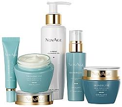 Voňavky, Parfémy, kozmetika Sada - Oriflame NovAge Skinergise Set (gel/150ml+eye/cr/15ml+ser/30ml+day/cr/50ml+/night/cr/50ml)