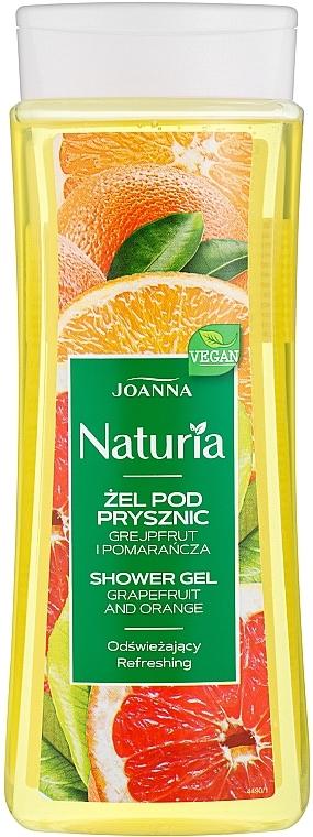 """Sprchový gél """"Grapefruit a pomaranč"""" - Joanna Naturia Grapefruit and Orange Shower Gel"""
