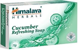Voňavky, Parfémy, kozmetika Osviežujúce mydlo s uhorkou - Himalaya Herbals Refreshing Cucumber