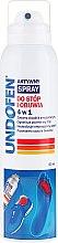 Voňavky, Parfémy, kozmetika Sprej na nohy - Undofen Active Foot Spray 4in1