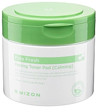 Voňavky, Parfémy, kozmetika Upokojujúce peelingové vlhčené tampóny - Mizon Pore Fresh Peeling Toner Pad