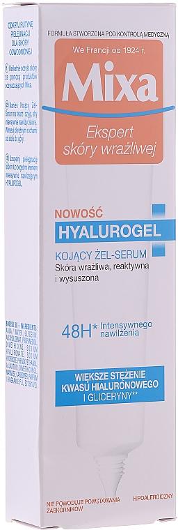 Denný krém so silným hydratačným účinkom - Mixa Sensitive Skin Expert Hyalurogel