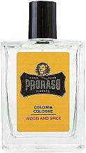 Voňavky, Parfémy, kozmetika Proraso Wood and Spice - Kolínska voda