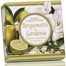 """Voňavky, Parfémy, kozmetika Prírodné mydlo """"Bergamot a Gardenia"""" - Saponificio Artigianale Fiorentino Capri Bergamot & Gardenia Soap"""