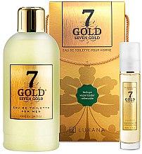 Voňavky, Parfémy, kozmetika Luxana Seven Gold - Sada (edt/1000ml + edt/50ml)