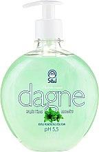 "Voňavky, Parfémy, kozmetika Tekuté mydlo ""Zelený čaj"" - Seal Cosmetics Dagne Liquid Soap"