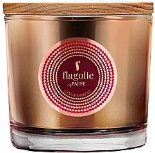 """Voňavky, Parfémy, kozmetika Vonná sviečka v pohári """"Zázvorový perníček"""" - Flagolie Fragranced Candle Gingerbread"""