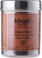 """Voňavky, Parfémy, kozmetika Bylinný prášok """"Shikakai"""" na umývanie delených koncov - Khadi Shikakai Pulver"""