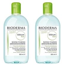 Voňavky, Parfémy, kozmetika Sada - Bioderma Sebium H2O Micellaire Solution (2xsolution/500ml)