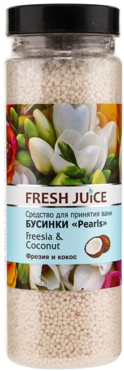 Kúpeľové perličky - Fresh Juice Bath Bijou Rearls Freesia and Coconut