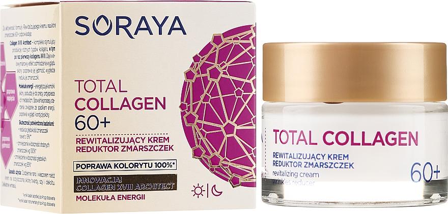 Denný a nočný regeneračný krém proti vráskam 60+ - Soraya Total Collagen 60+