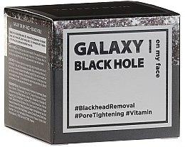 Voňavky, Parfémy, kozmetika Čistiaca maska s trblietkami - Yeppen Skin Galaxy Black Hole Mask Peel-off