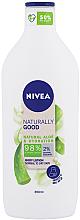 Voňavky, Parfémy, kozmetika Lotion na telo - Nivea Naturally Good Body Lotion