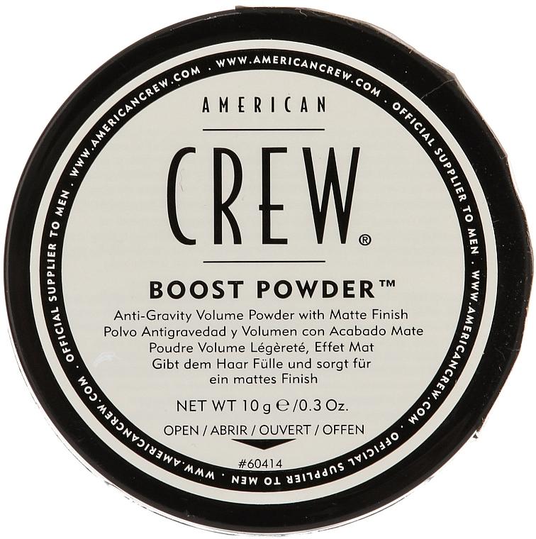 Antigravitačný prášok pre matný efekt - American Crew Boost Powder