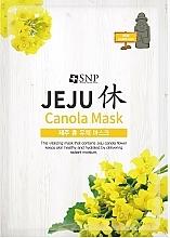 Voňavky, Parfémy, kozmetika Textilná hydratačná maska na tvár s repkovým olejom - SNP Jeju Rest Canola Mask