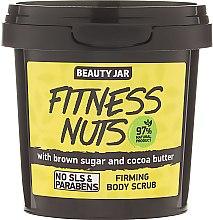 """Voňavky, Parfémy, kozmetika Posilňujúci scrub na telo """"Fitness Nuts"""" - Beauty Jar Firming Body Scrub"""