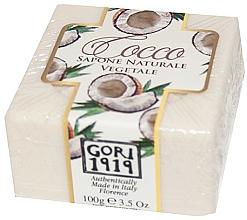 """Voňavky, Parfémy, kozmetika Mydlo """"Kokosový orech"""" - Gori 1919 Coconut Natural Vegetable Soap"""