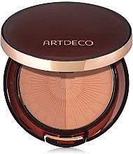 Voňavky, Parfémy, kozmetika Bronzový púder - Artdeco Bronzing Powder Compact Long-Lasting