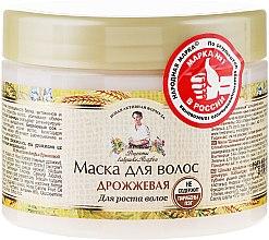 Maska na vlasy droždie - Recepty babičky Agafy — Obrázky N1