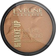 Voňavky, Parfémy, kozmetika Bronzový kompaktný púder - Eveline Cosmetics Art Professional
