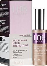 Voňavky, Parfémy, kozmetika Omladzujúce nočné sérum na tvár - Lirene Lab Therapy Radical Repair Night Therapy Serum 10%