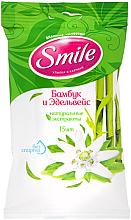 """Voňavky, Parfémy, kozmetika Vlhčené utierky """"Bambus a plesnivec"""", 15 ks - Smile Ukraine"""