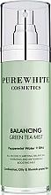 Voňavky, Parfémy, kozmetika Sprej na tvár - Pure White Cosmetics Balancing Green Tea Mist