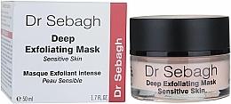 Voňavky, Parfémy, kozmetika Hlboká exfoliačná maska pre citlivú pokožku - Dr Sebagh Deep Exfoliating Mask