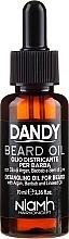 Voňavky, Parfémy, kozmetika Olej na bradu a fúzy - Niamh Hairconcept Dandy Beard Oil