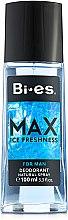 Voňavky, Parfémy, kozmetika Bi-Es Max - Parfumovaný deodorant-sprej