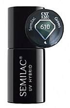 """Voňavky, Parfémy, kozmetika Gél lak na nechty """"Mačacie oko"""" - Semilac UV Hybrid Cat Eye"""
