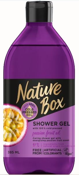 Sprchový gél - Nature Box Passion Fruit oil Shower Gel