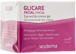 Voňavky, Parfémy, kozmetika Gél pre kontúry očí a pier - SesDerma Laboratories Glycare Eye and Lip Contour Gel