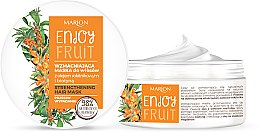 Voňavky, Parfémy, kozmetika Spevňujúca maska na vlasy s olejom z rakytníka - Marion Enjoy Fruit Strengthening Hair Mask