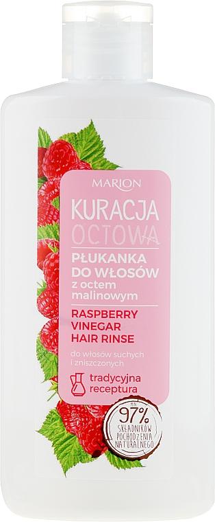 Oplachovač na vlasy s malinovým octom pre suché a poškodené vlasy - Marion Raspberry Vinegar Hair Rinse