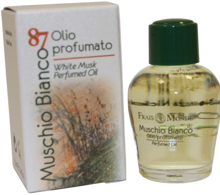 """Parfumovaný olej """"Biely pižmo"""" - Frais Monde White Musk Perfumed Oil"""